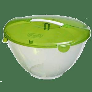 Komplet sałatkowy z rączką zielony