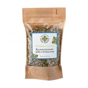 herbatka ziołowa na zdrowe jelita