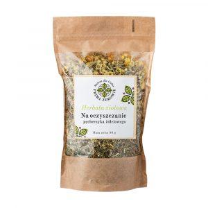 herbatka ziołowa na oczyszczenie pęcherzyka żółciowego