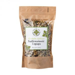herbatka ziołowa nadkwaśność i zgaga