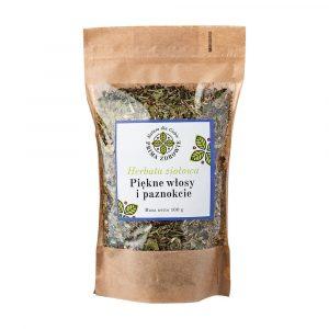 herbatka ziołowa piękne włosy i paznokcie