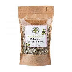 herbatka ziołowa na migrenę