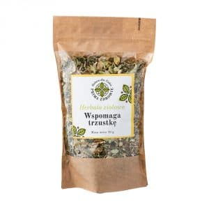 herbata ziołowa wspomaga trzustkę