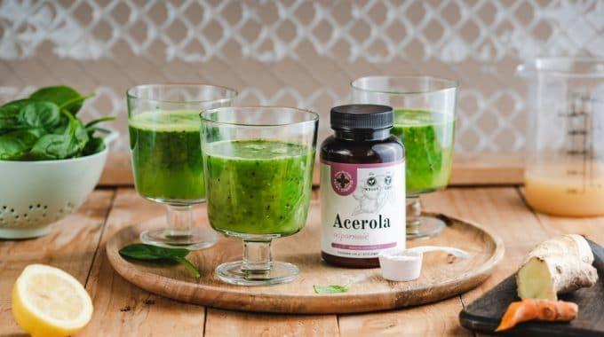 zielony koktajl na poprawę odporności