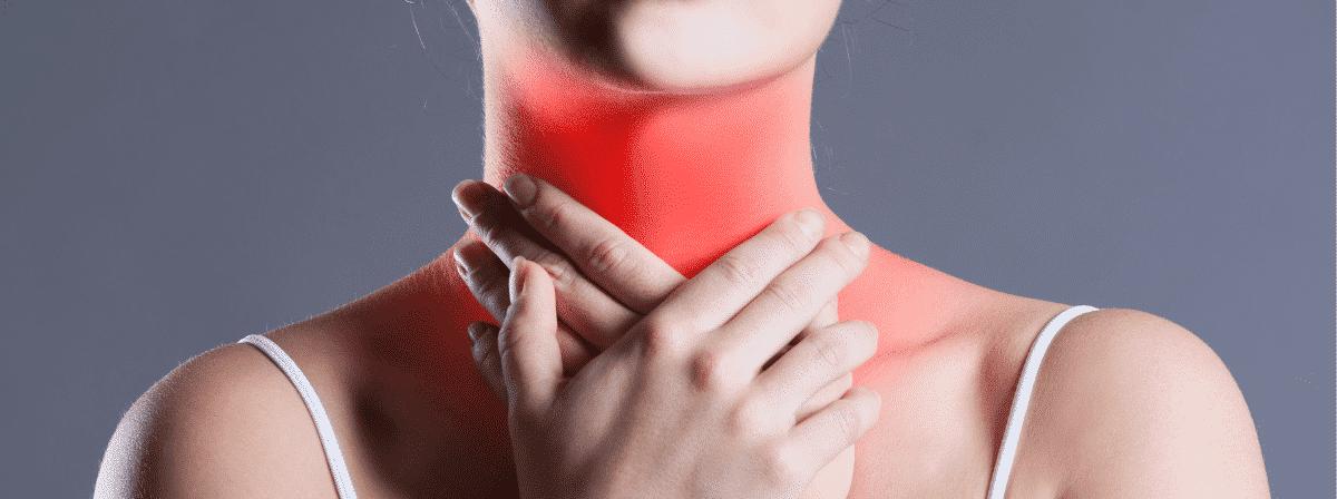 sposoby na ból gardła